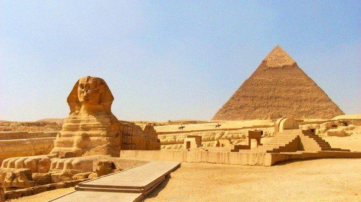 Как египтяне двигали блоки для пирамид