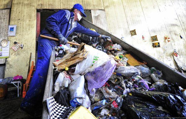Как перерабатывают мусор во Владивостоке