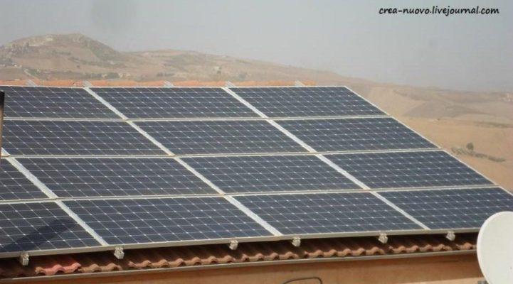 Солнечные панели. Как это работает в Италии