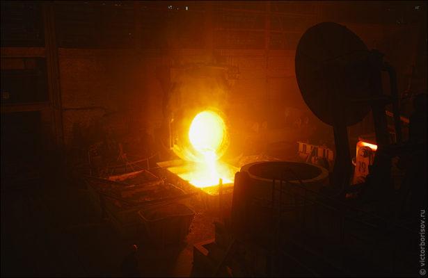 Как переплавляют сталь