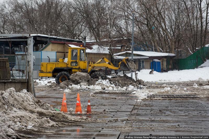 Куда в Москве девается снег?