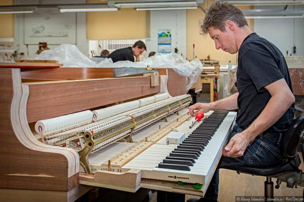 Как делают рояли Steinway & Sons
