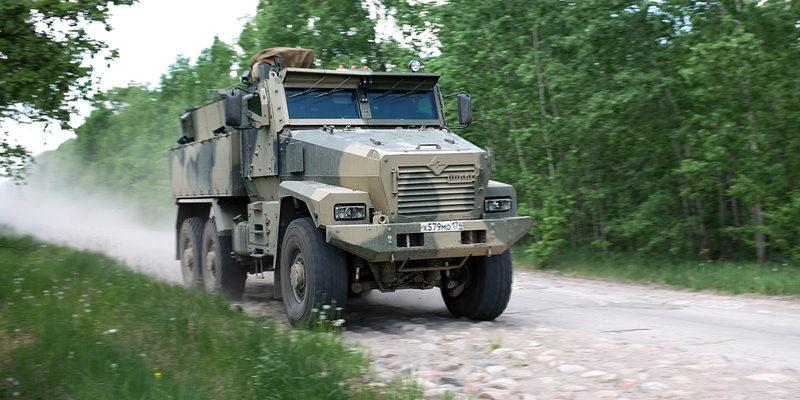 Российский броневик
