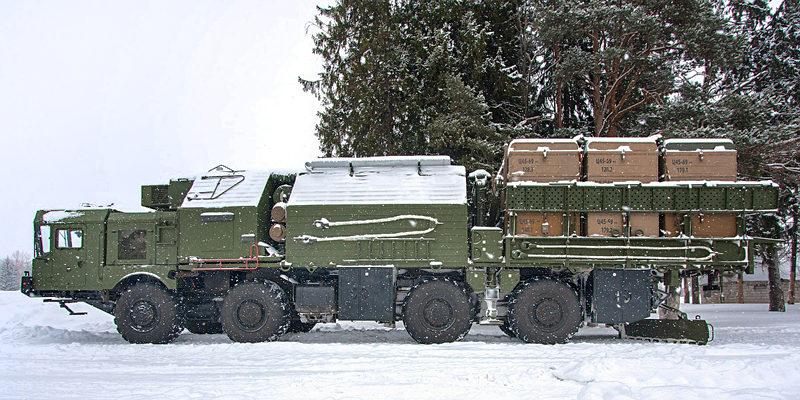 Инженерная машина ракетчиков
