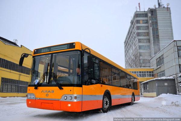 Как собирают российские автобусы. Завод ЛИАЗ