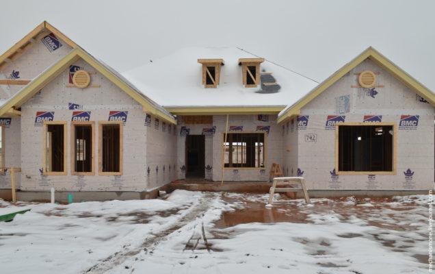 Как строят дома в центральных штатах США