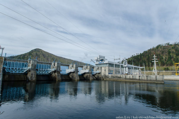 Как устроена Майнская ГЭС