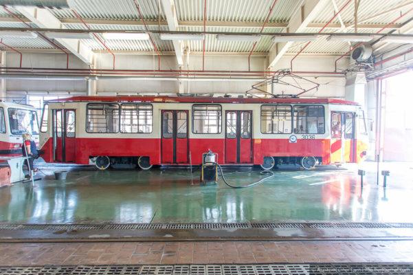 Как работает трамвайное депо