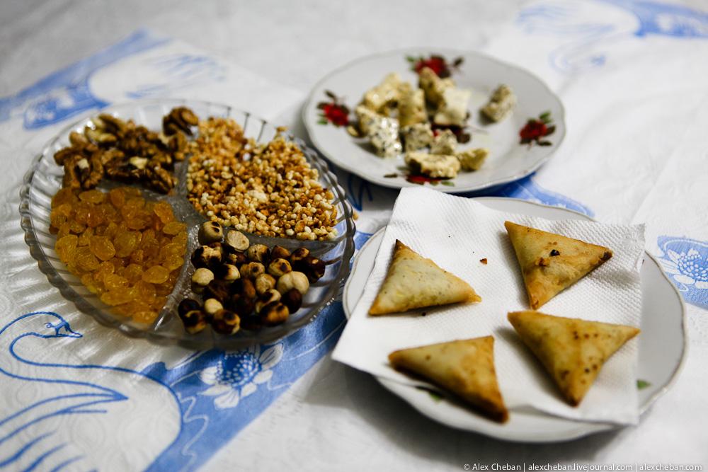 Как делают халву в Азербайджане