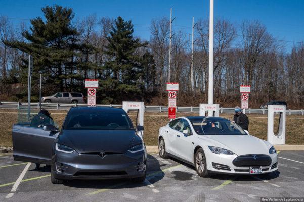 Как устроен электромобиль Tesla Model X