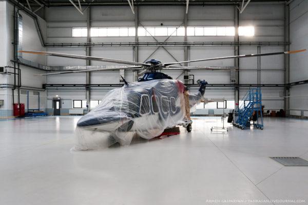 Как собирают вертолеты