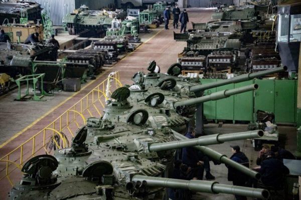 Как на Украине модернизируют советские танки