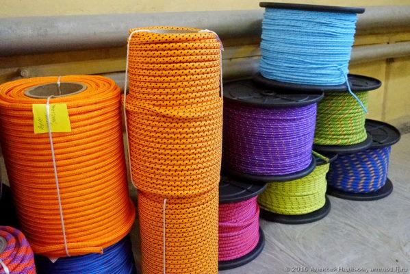 Как делают канаты и альпинистские верёвки