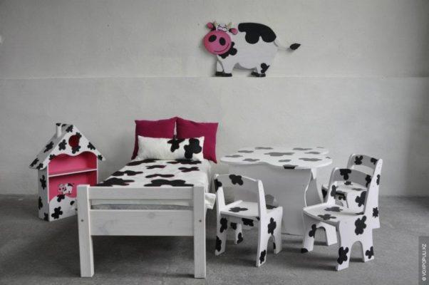 Как делают детскую мебель