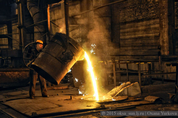 Как работает металлургический завод