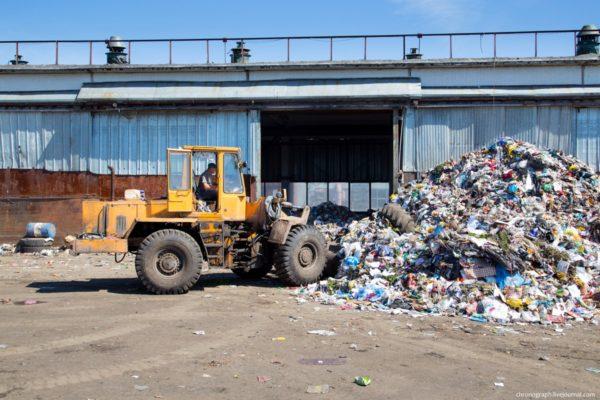 Как в Тольятти перерабатывают мусор