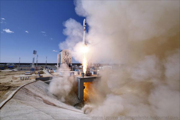 Как с космодрома Восточный запускали первую ракету