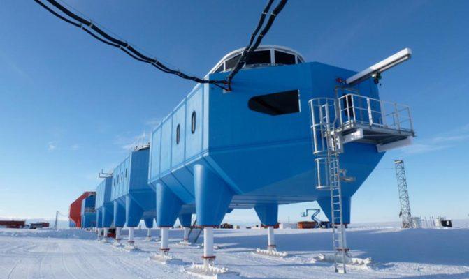 Как устроена британская полярная станция Halley VI