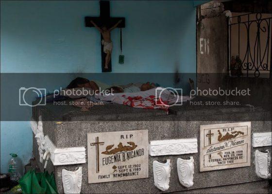 Как устроено жилое кладбище на Филиппинах
