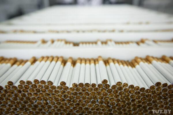 Как в Белоруссии делают сигареты