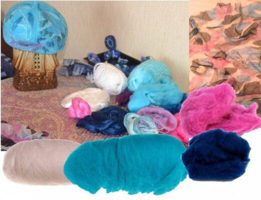 Как создают современные текстильные дизайнерские изделия из войлока
