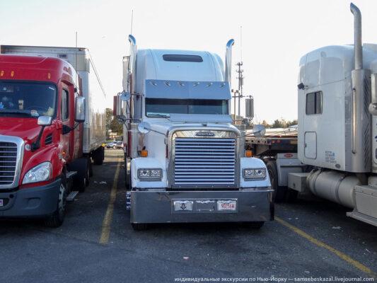 Путешествие в Нью-Джерси в кабине большого американского грузовика. Часть 2