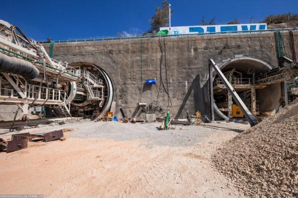 Строительство железнодорожной линии Тель-Авив — Иерусалим
