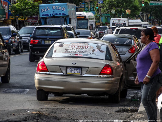 Как работают нелегальные такси в Нью-Йорке