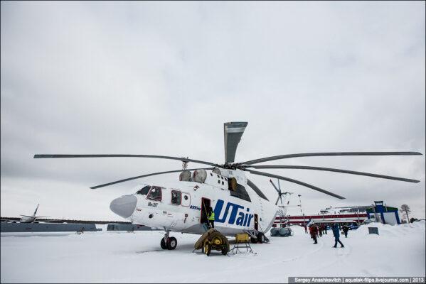 Самый большой вертолет в мире. Ми-26