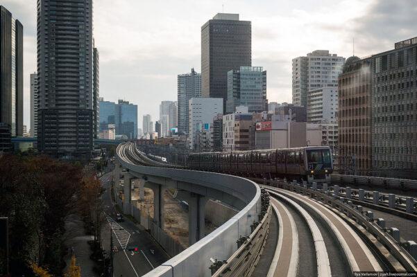 Как устроен токийский метрополитен