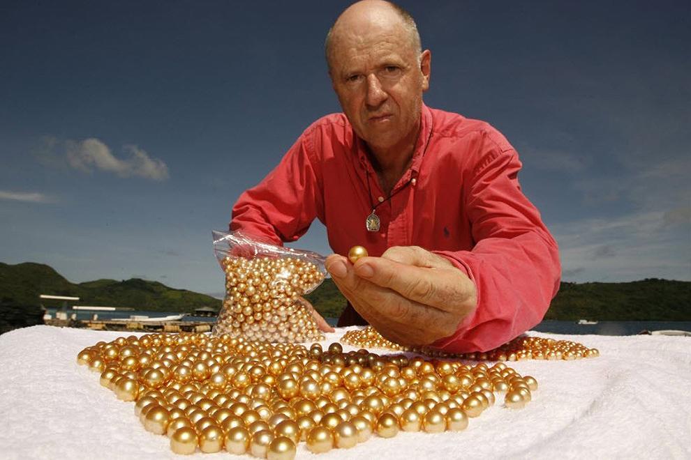 Как выращивают золотой жемчуг