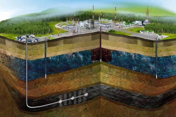 Как под землей залегает нефть