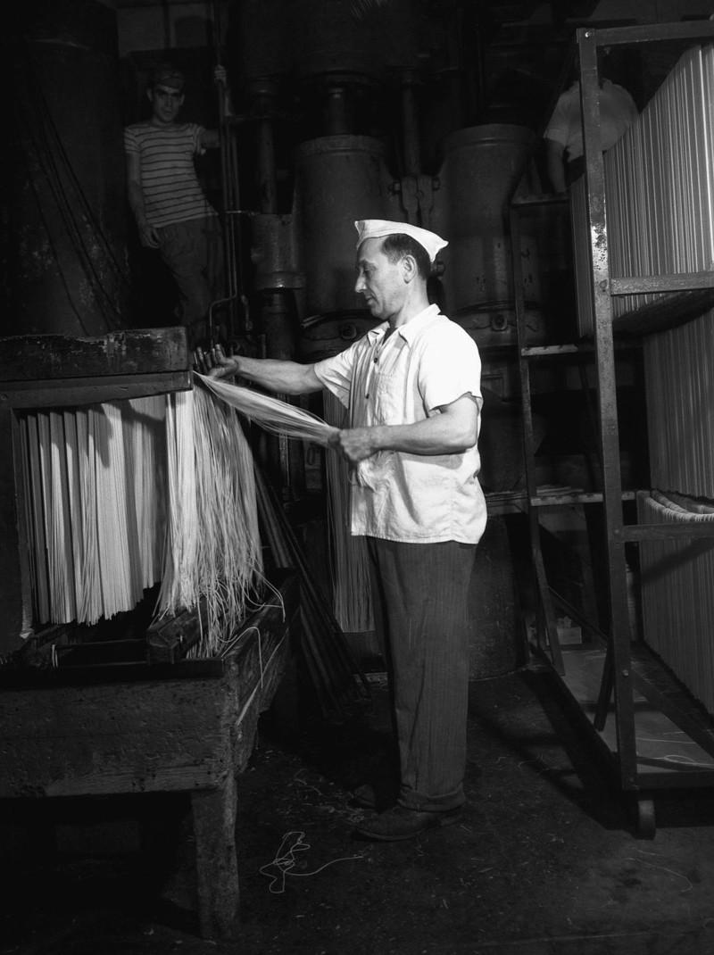 Как делали пасту в начале 20-го века