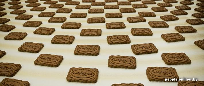Как в Беларуси делают печенье